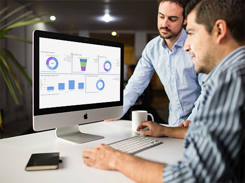 Data analytics for cloud marina software based on Salesforce Sales Service