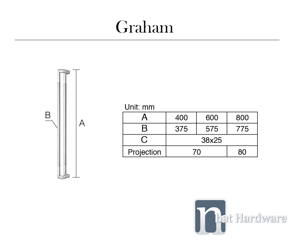 Graham Door Pull Handle