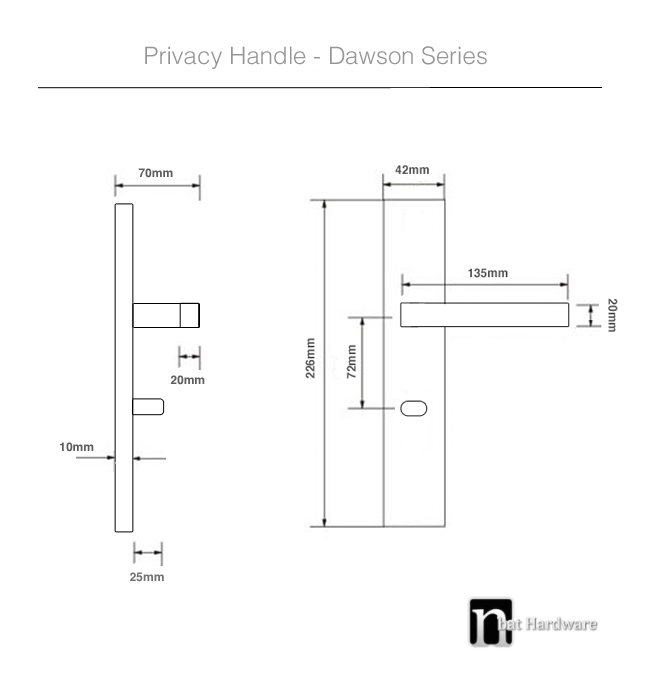dawson privacy handle drawing