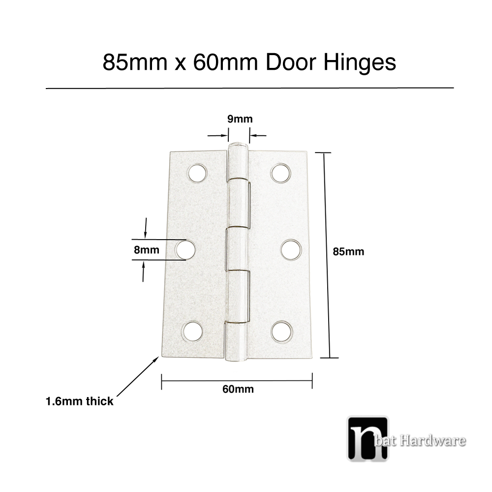 Tee Hinges For Internal Doors