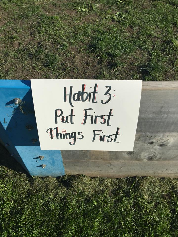 Habits of Kindness: Put First Things First