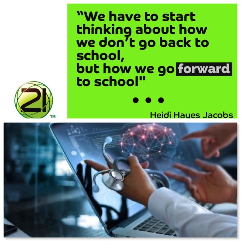 The Coronavirus Diaries: We Won't Go BACK To School; We Will Go Forward