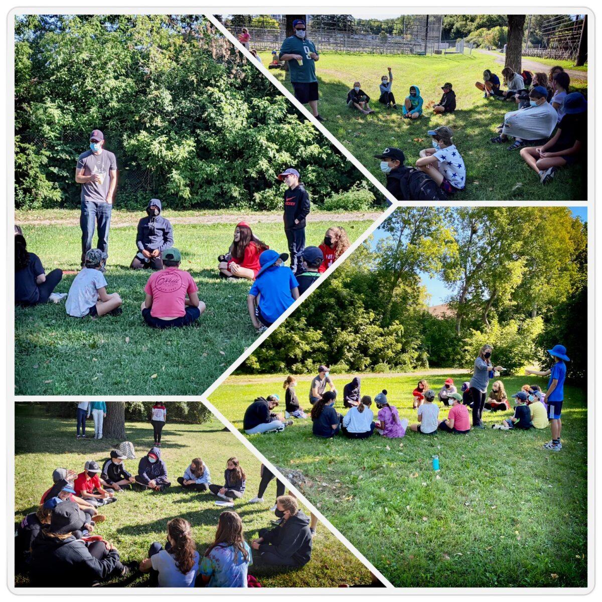 The 2021 OJCS Middle School Retreat: (Re)Building Community