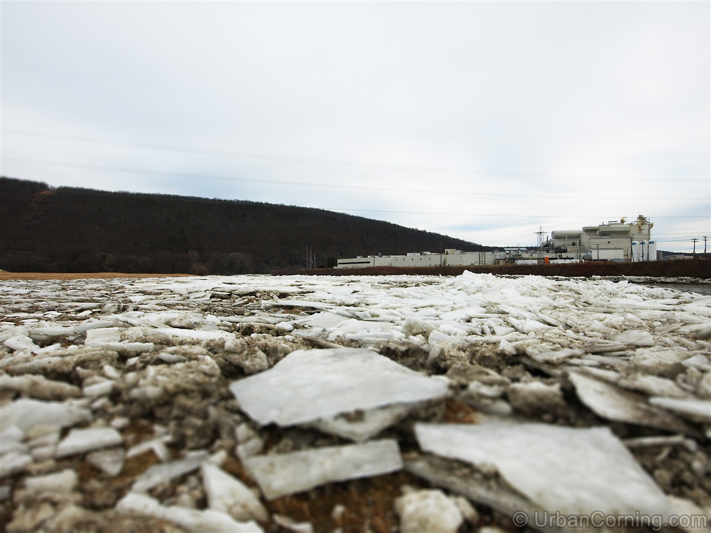 Fortress of Solitude | A Frozen Chemung River