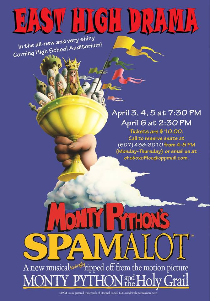 Spamalot is the Perfect High School Musical