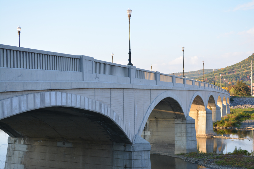 Corning NY Walking Bridge Centerway Architecture Historic Preseveration Award