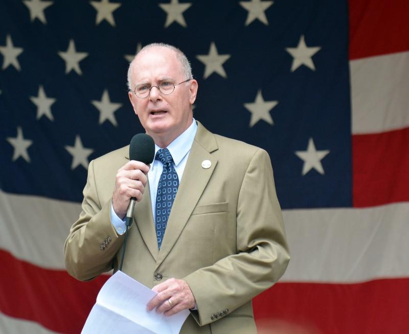 Corning Mayor Bill Boland