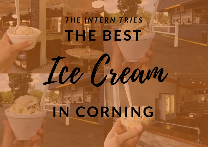 The Intern Tries…Ice Cream in Corning