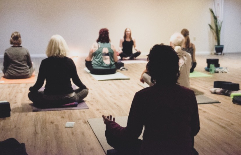 My New Year Yoga Resolution with Crystal Heart