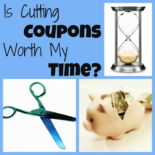 Is Cutting Coupons Worth My Time?