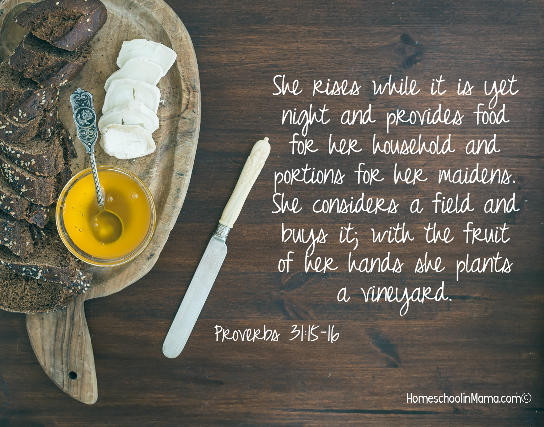 Raising Proverbs 31 Women - Her Behavior Continued