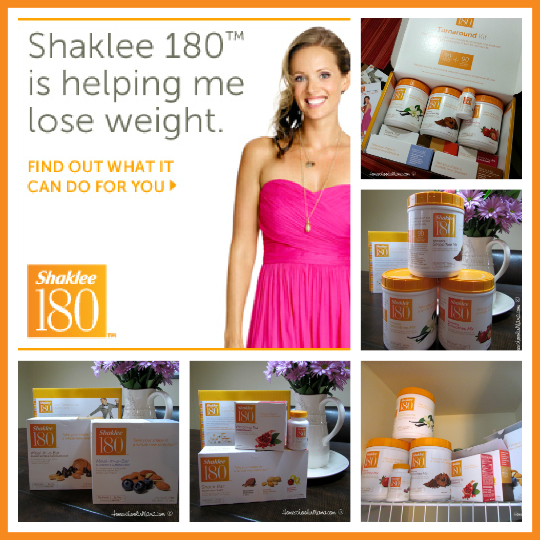 Shaklee 180™ Turnaround Kit - Join me in this amazing journey @HomeschoolnMama