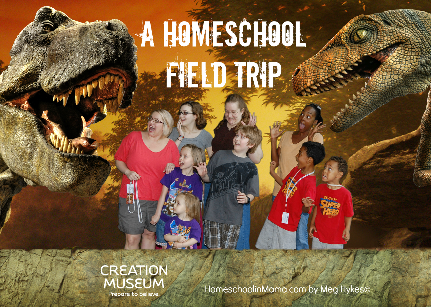 Our Homeschool Field Trip – The Creation Museum