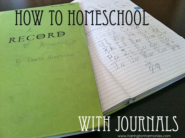 How To Homeschool With Journals