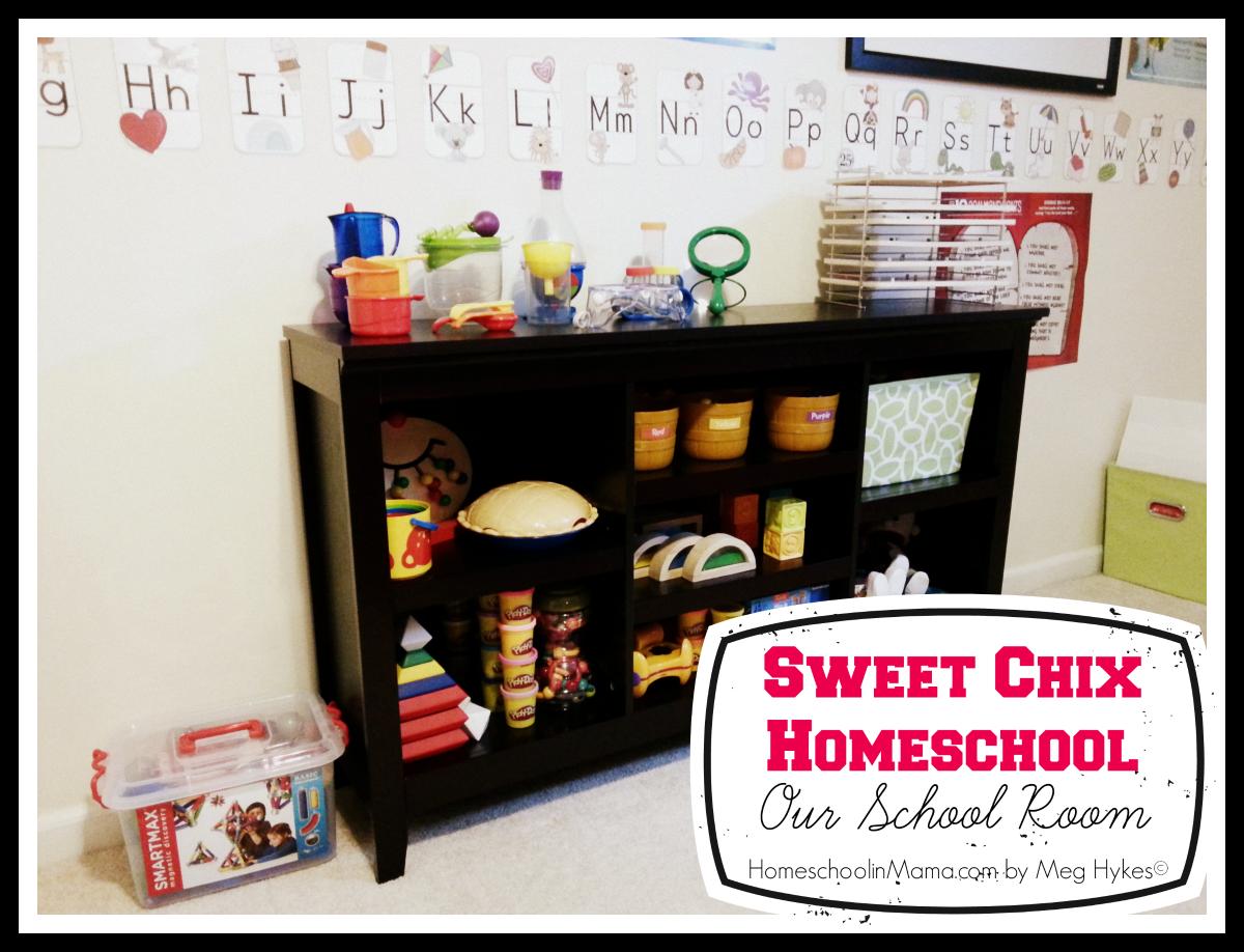 Sweet Chix Homeschool: Our School Room