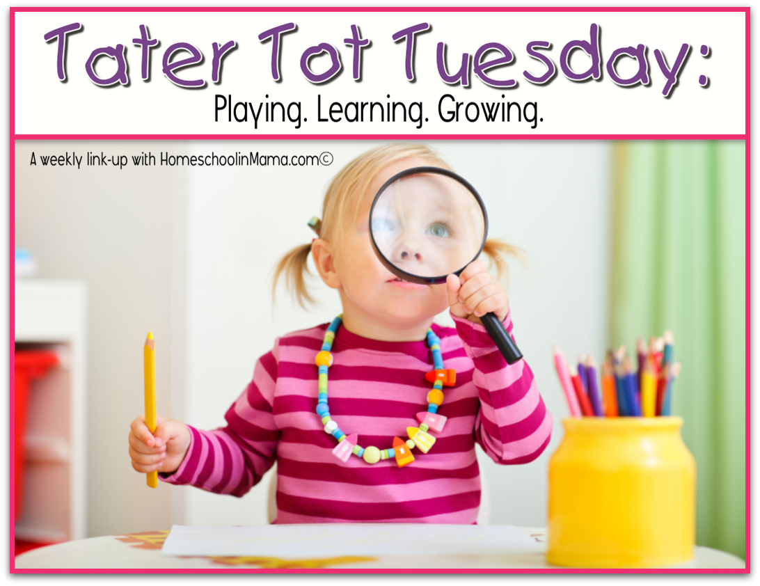 Tater Tot Tuesday – Letter Bb