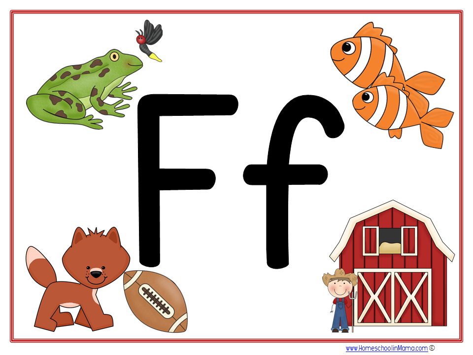 Tater Tot Letter Ff Learning Pack from www.HomeschoolinMama.com