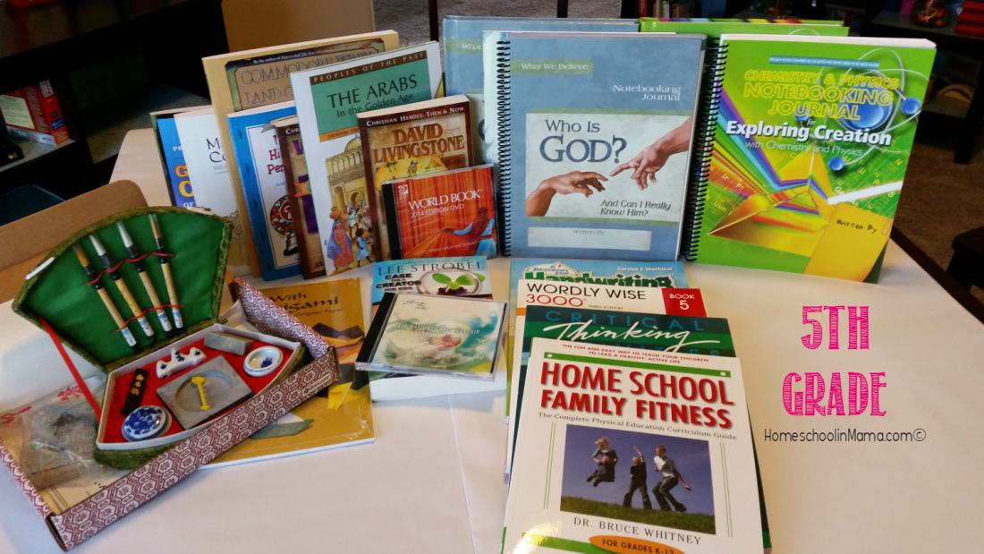Our 5th Grade Curriculum for 2015-2016