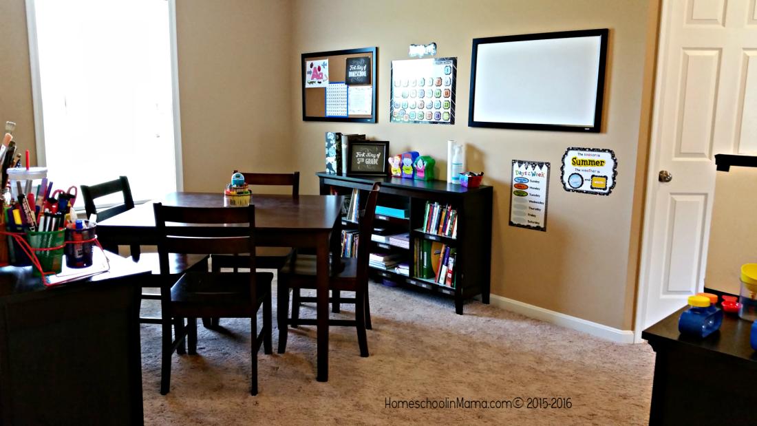Our Homeschool Room 2015-2016