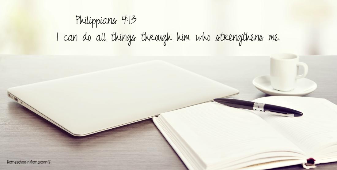 Mama Sets The Tone - Philippians 4:13