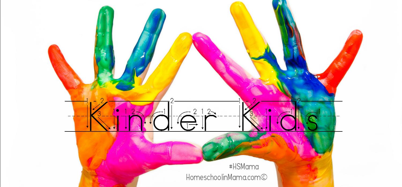 Kinder Kids - Fun printables for the Kindergartner in your life! #HSMama #KinderKids #kindergarten #printables #homeschool