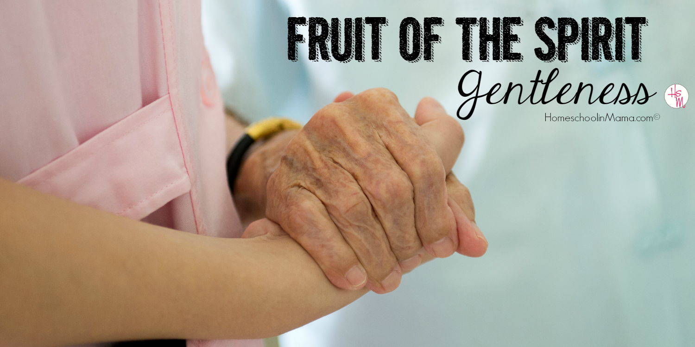 Fruit of the Spirit: Gentleness