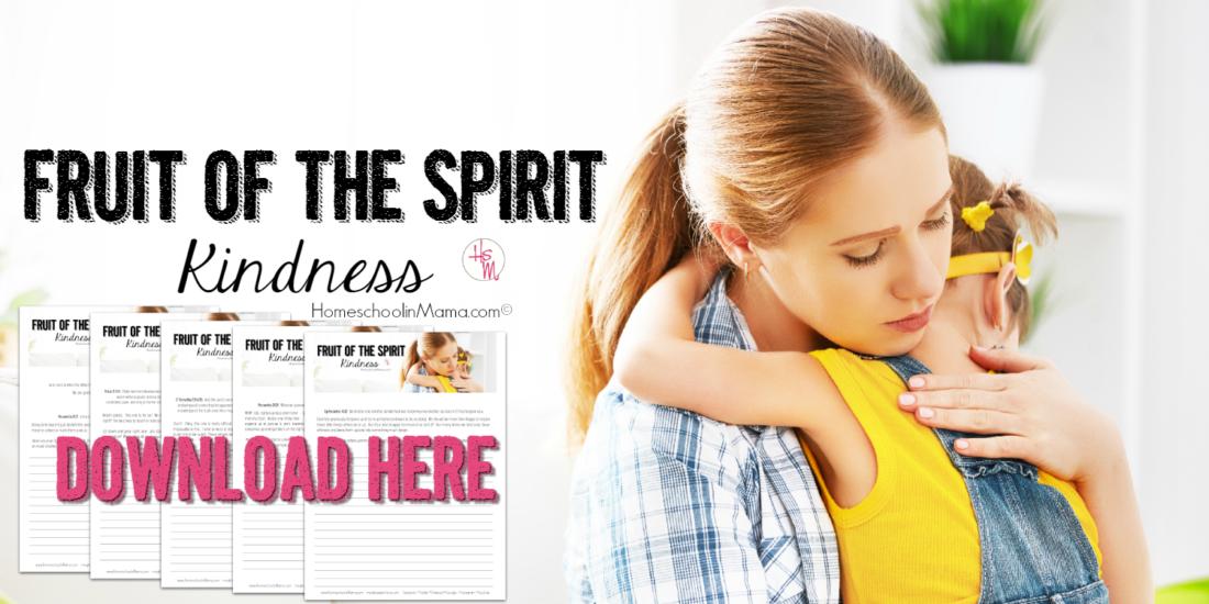 Fruit of the Spirit - Kindness