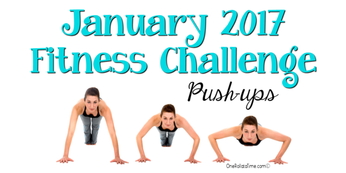 January 2017 Fitness Challenge Push-ups
