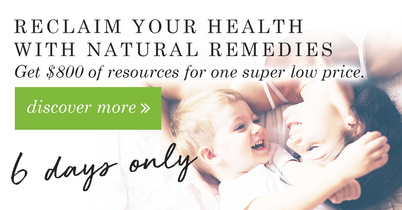 Reclaim Your Health With Natural Remedies