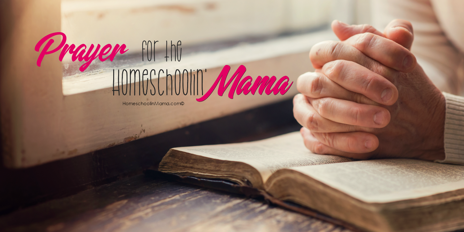 Prayer For The Homeschoolin' Mama