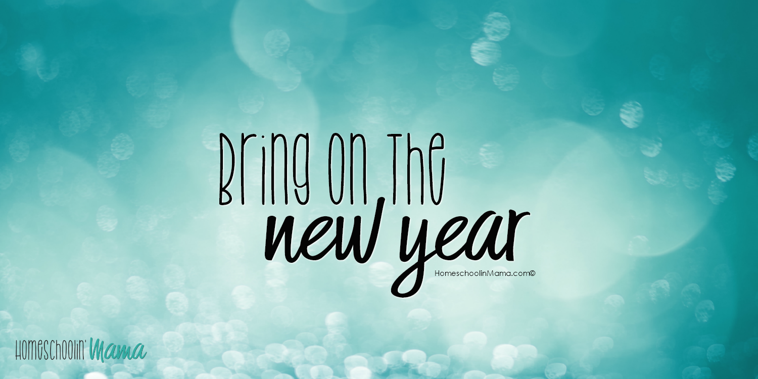 Bring On The New Year