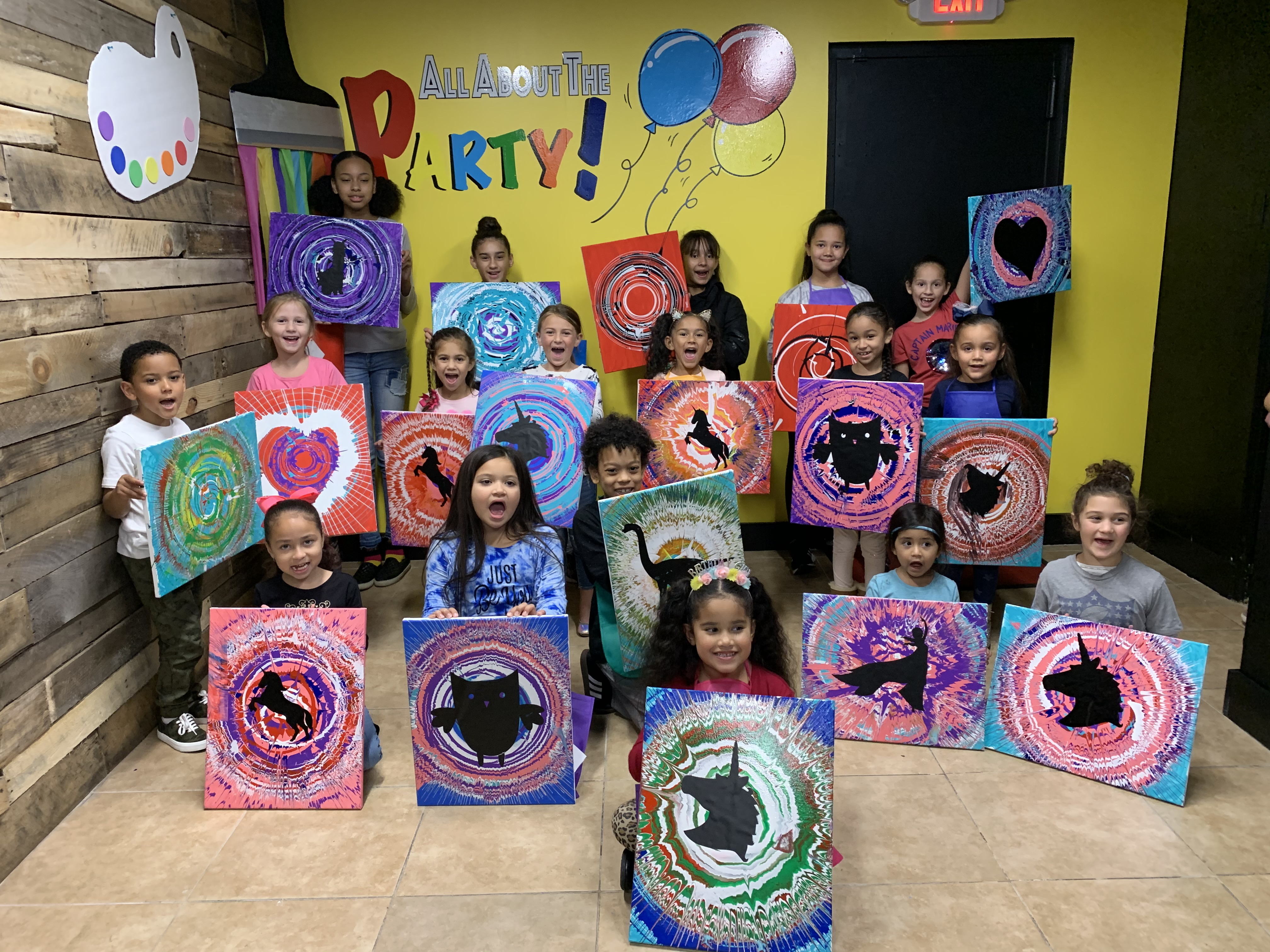 spin art group
