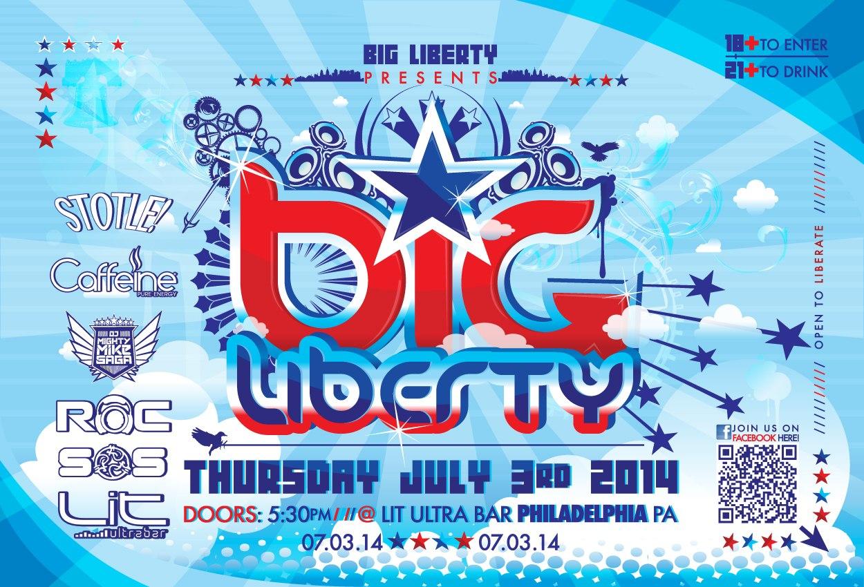 wildstylez, EDM, Big liberty