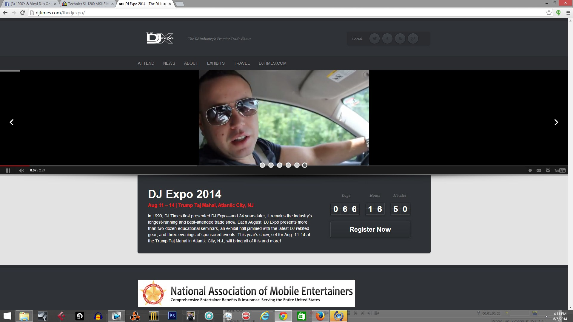 sojo_djtimes_dj_expo_taj mahal _atlantic city _doac_best djs_american dj _dj blog_senate djs_