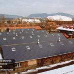 Swiss horse barns