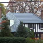 Chevy Chase Maryland home. Sunslates on a tudor.
