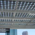 Cantilevered BIPV canopy, Federal Courthouse Denver