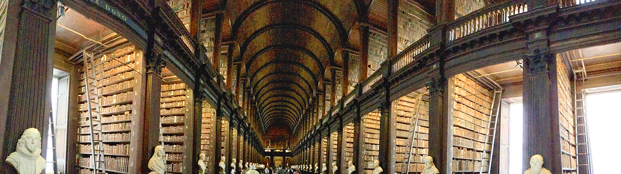Photo of Trinity College Library, Dublin