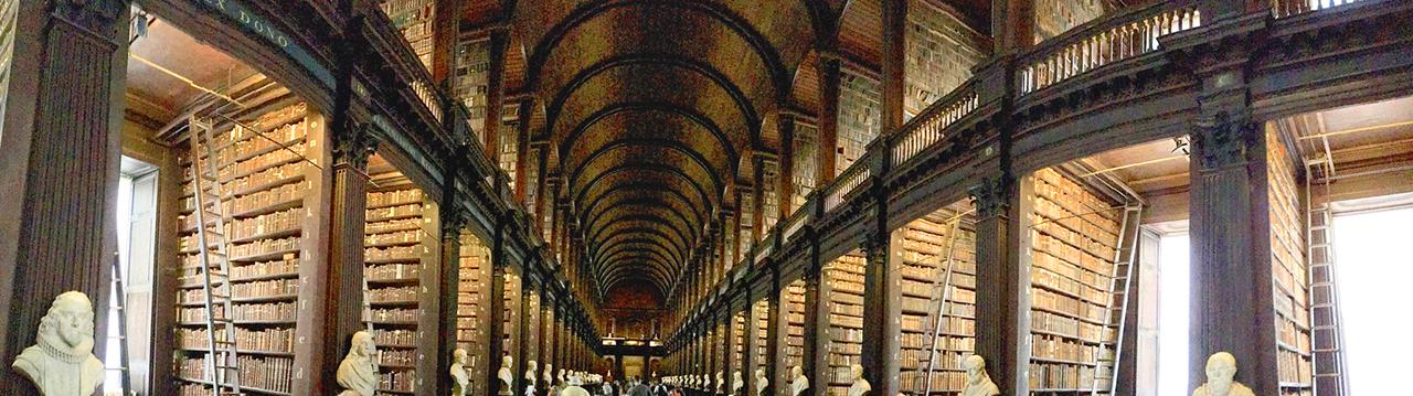 Photo of Trinity College Library, Dublin