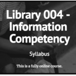 Link to Library 4 syllabus