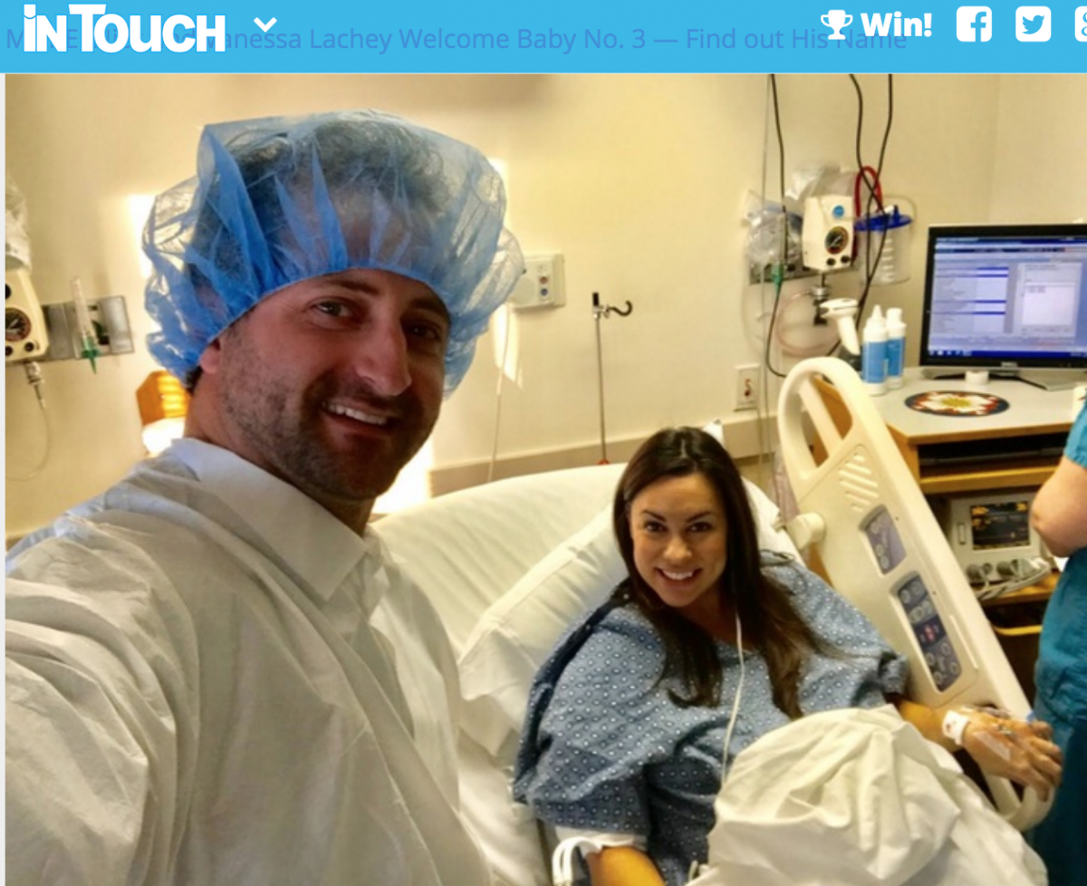 IN TOUCH WEEKLY – Ann & Jesse Csincsak Welcome Baby Number 3
