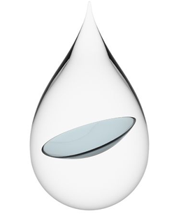 contact lens in drop