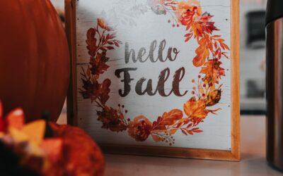 Hello Fall!!!