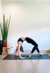 Deepen Wheel Pose Safely