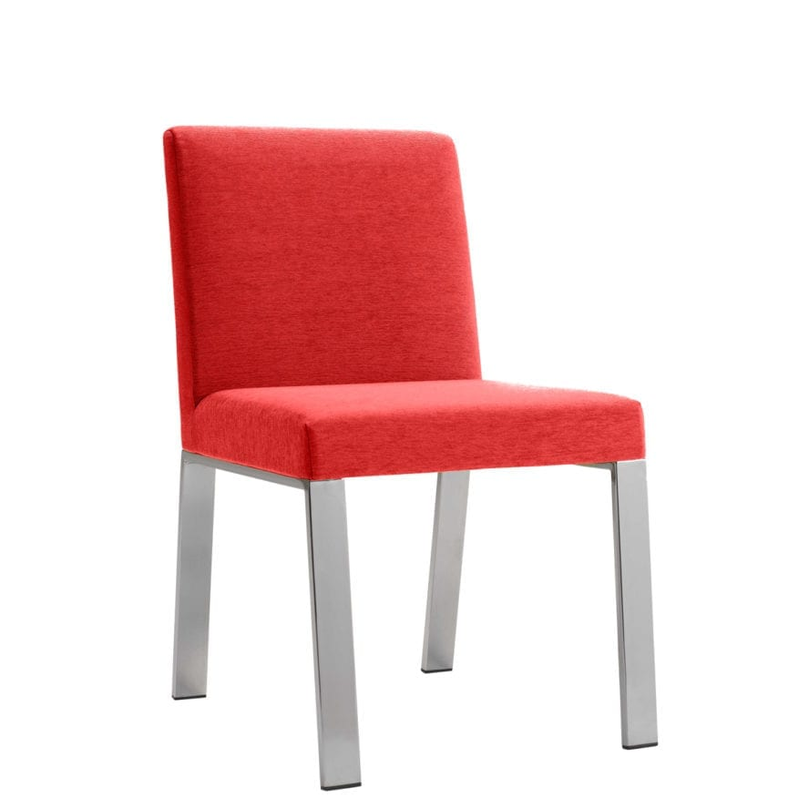 Aceray 183 side chair with metal base