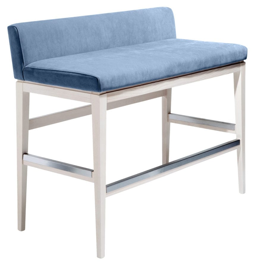 Aceray low back barstool height love seat