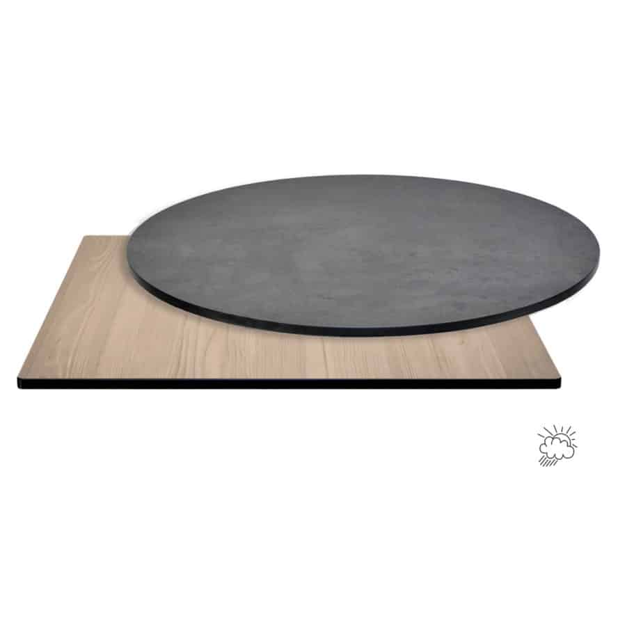 Aceray_#T192_indoor-outdoor_HP-laminate table tops