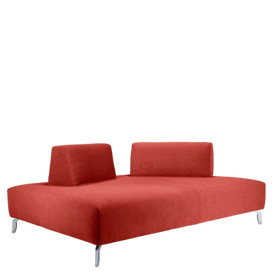 Spazio lounge seating section with two head rests
