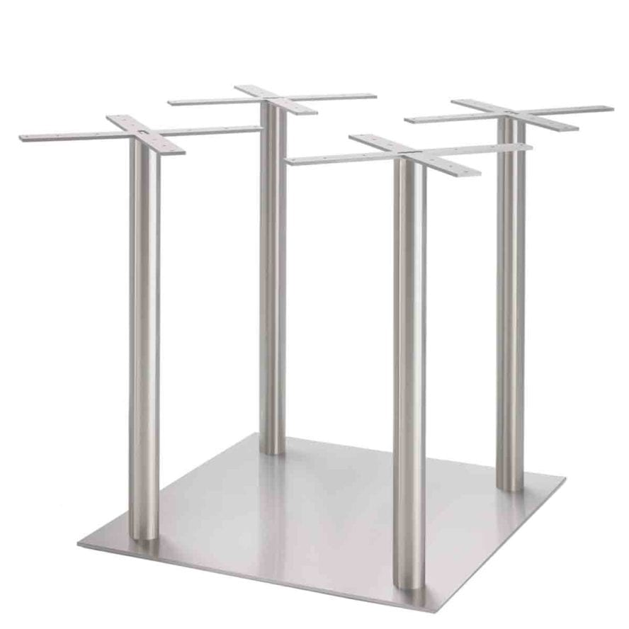 Aceray Piazza Maxi bar height multi-post table base with square pole
