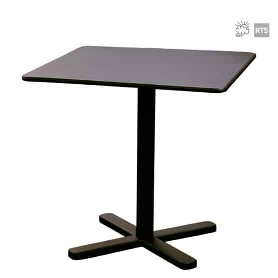 The Aceray Lido-8 indoor/outdoor tilt table in black